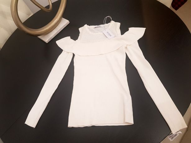 Guess nowy wiosenno letni sweterek XS oryginalny