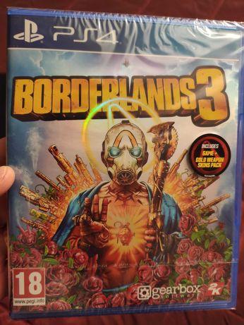 Borderlands 3 ps4 NOVO + extra gold weapon skins pack