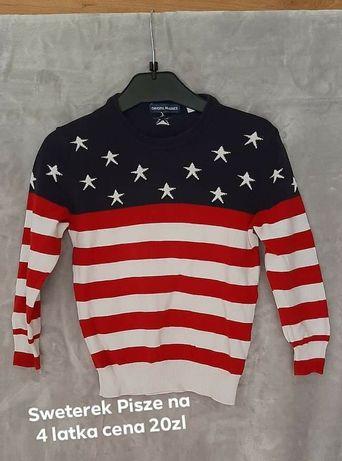 Sweterek na 4 latka