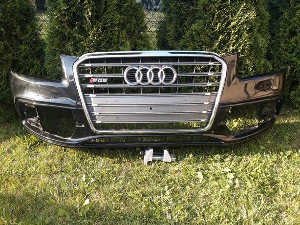 Zderzak plus grill Audi Q5 S Line 2014 oryginał