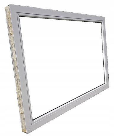 okna kacprzak witryna 127x88 fix używany pcv