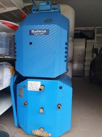 Kocioł / olej opałowy Buderus G115 + bojler Logalux + zbiornik 1000
