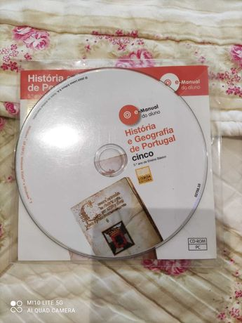 CD áudio - História e Geografia de Portugal 5