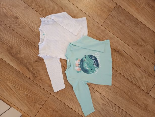 Bluzeczki jak nowe 18 mcy