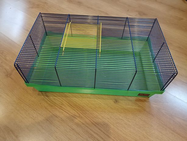 Klatka, transporter dla chomika gryzonia używana 42x28x18 cm Pet Inn