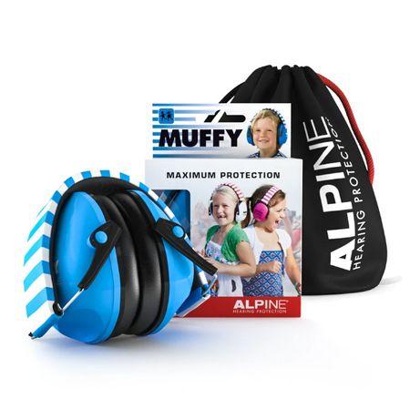 Ochronniki słuchu dla dzieci Alpine Muffy Blue