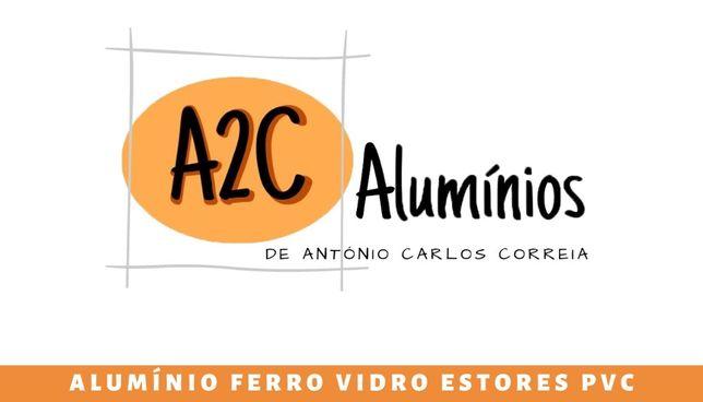 Caixilharia / portas em aluminio e pvc