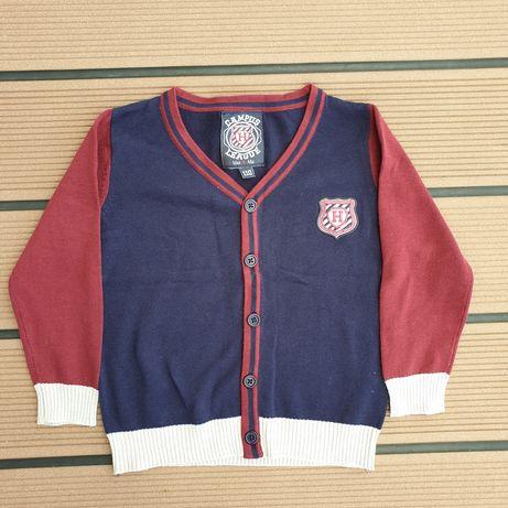 Sweterek dla chłopca 110