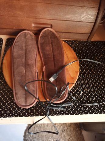 Wkładki rozgrzewające do butów z USB