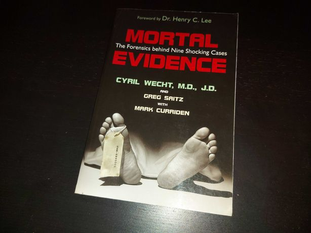 Mortal Evidence - Cyril Wecht (livro em inglês)