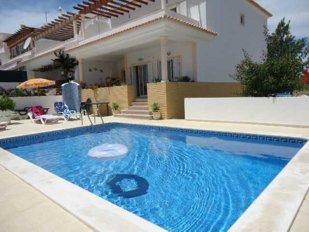 algarve alug moradia c/piscina privada 350metros praia Armaçao pera