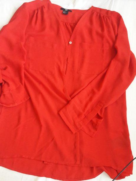 Bluzka H&M czerwona