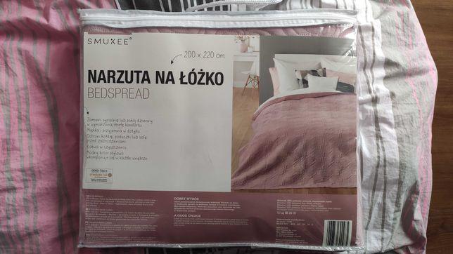 Narzuta na łóżko nowa Smukee
