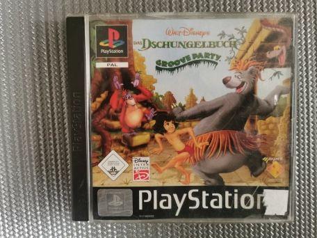 Księga Dżungli PS1 PSX PSONE