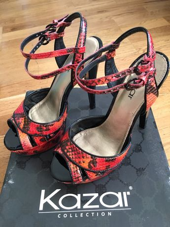 Szpilki sandały Kazar 37