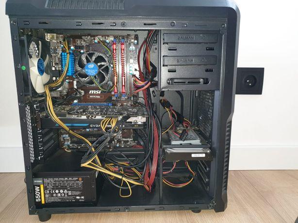 Komputer Stacjonarny z obudową ZALMAN z3 PLUS