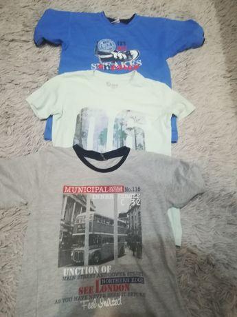 Zestaw koszulek 134rozm