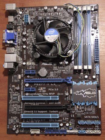 Набор Core i5-3330 3.0GHz BOX + Asus P8Z77-V LX Intel Z77 Socket 1155