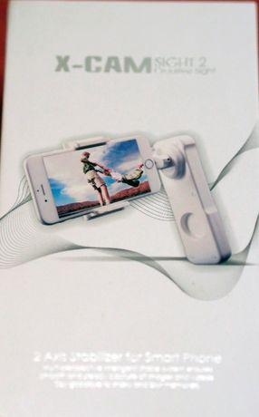 Gimbal 2-osiowy stabilizator X-Cam Sight2 do telefonów lub GoPro