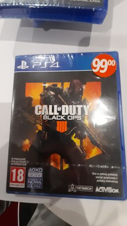 Call of Duty Black Ops PL PS4 nowa folia