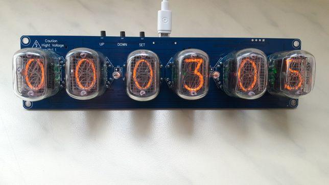 ламповые часы на индикаторах ин 12