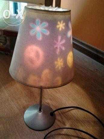 candeeiro colorido
