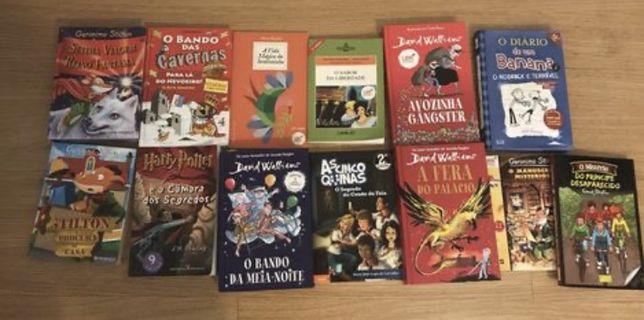 Varios livros infantis e juvenis desde 8€