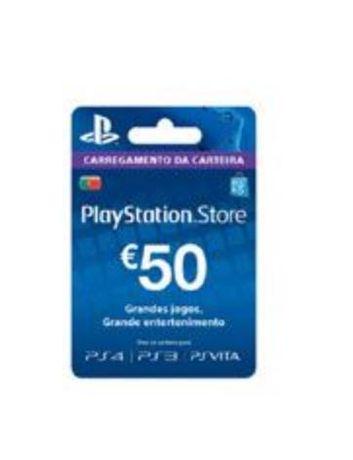 Cartão PSN 50€ NOVO SELADO