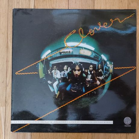 Clover, Love On The Wire, UK, Nov 1977, bdb+