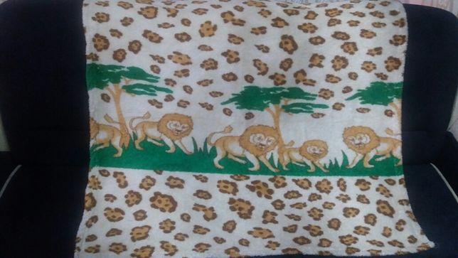 Детский пледик-одеяло.