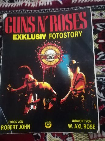 Фото история группы Guns n'roses