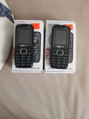 2 telefony maxcom na gwarancji