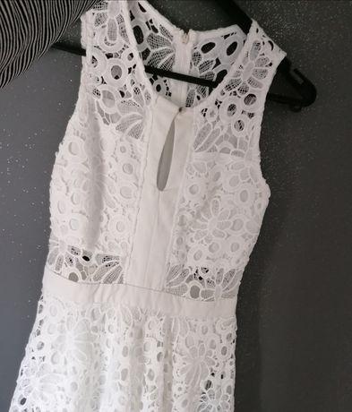 Sukienka koronkowa 38 M wesele lato