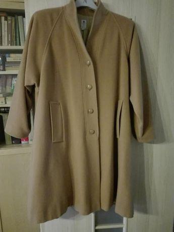 płaszcz jesienny/zimowy beżowy / jesionka r. 40