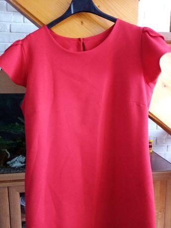 czerwona sukienka roz. XXL