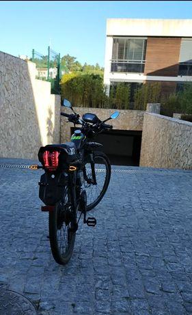Troco Mobilete Bina (Bicicleta Com Motor) Por Trotinete City Coco