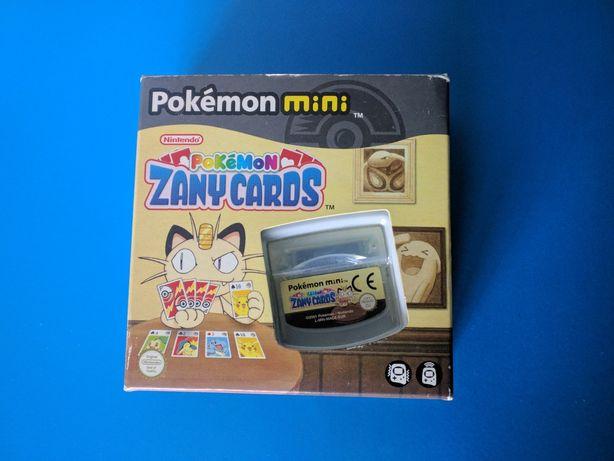 Gra Zany Cards Nintendo Pokemon Mini
