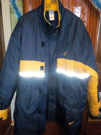 Куртка спортивная Adidas размер 52-54 производство Россия