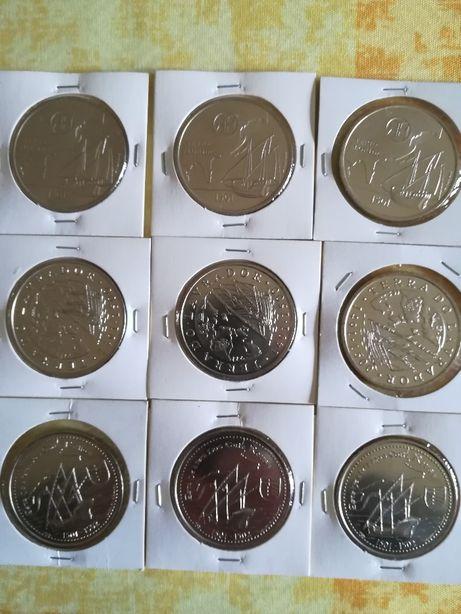 moedas de 200 escudos XI série dos descobrimentos