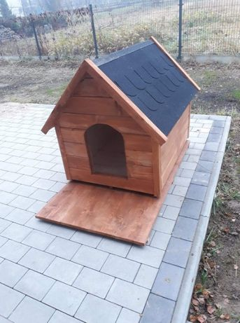 Ocieplane drewniane budy dla psów polecam
