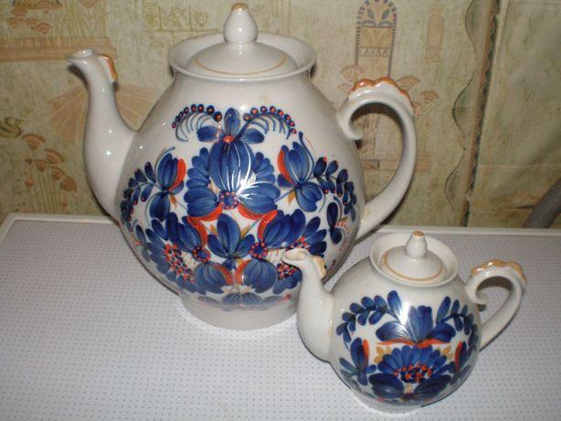новый керамический набор ссср. чайники.
