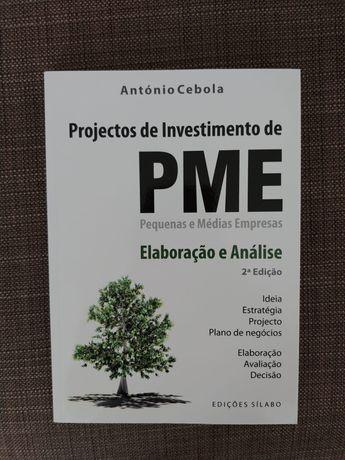 Projectos de Investimento de PME de António Cebola
