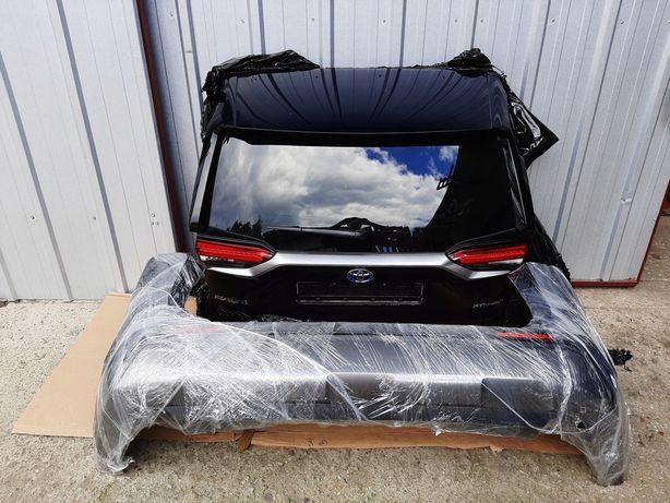 Toyota Rav 4 2019-2020 крышка багажника, бампер задний, фонари