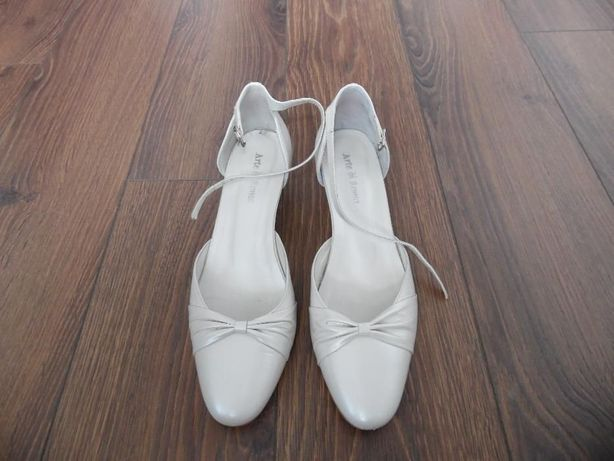 Buty ślubne Arte di Roma rozm. 38 kolor-ivory