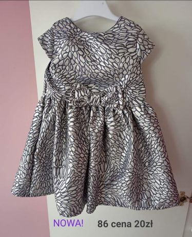 Sukienka dla dziewczynki 86
