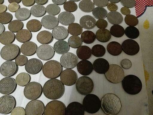 Vendo lote de moedas antigas ou troco por aparelho de soldar