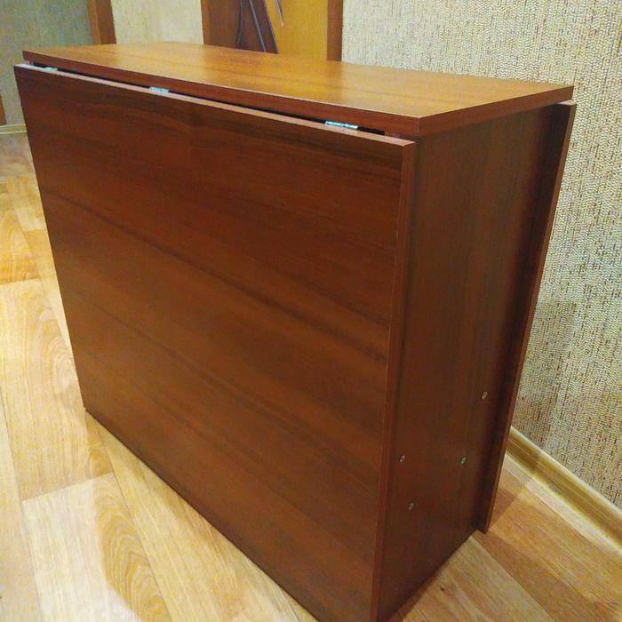 Стол тумба раскладной Донецк - изображение 1
