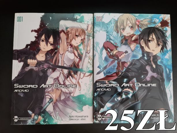 Light Novel Sword Art Online Tomy 1-2