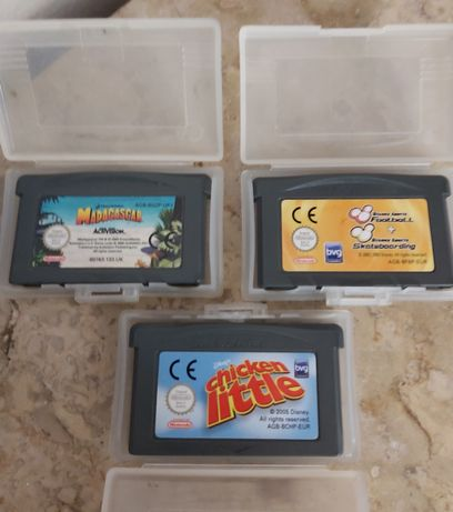 Pack 3 jogos infantis Game Boy Advance