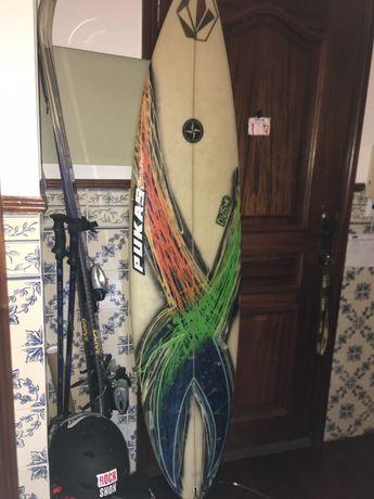 prancha surf 6.6. Troco por...